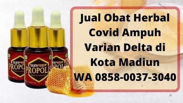 Jual Obat Herbal Covid Ampuh Varian Delta di Kota Madiun WA 0858-0037-3040