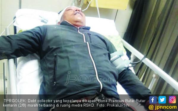 Ancam Bunuh Nasabah, Debt Collector Ditebas Kapak Berkarat
