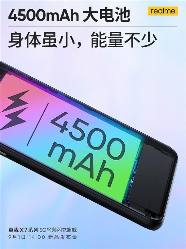 نسخة جديدة من هاتق REALME X7 PRO مخصصة  للألعاب بمعالج SNAPDRAGON 860