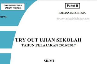 Kumpulan Latihan Soal US SD/MI 2017 Lengkap indo