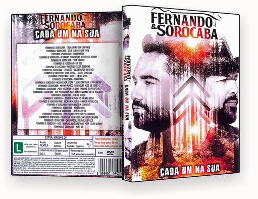 FERNANDO & SOROCABA CADA UM NA SUA – ISO – CAPA DVD