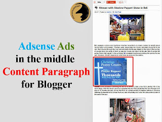 Put Adsense Ads Between Paragraph for Blogspot