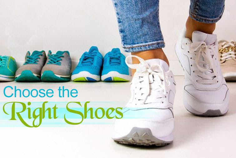 Foot Problems: Choose the Right Shoes