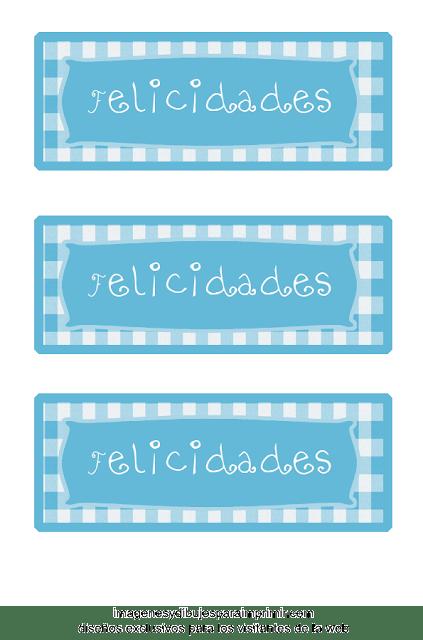 Etiquetas para imprimir de bebe