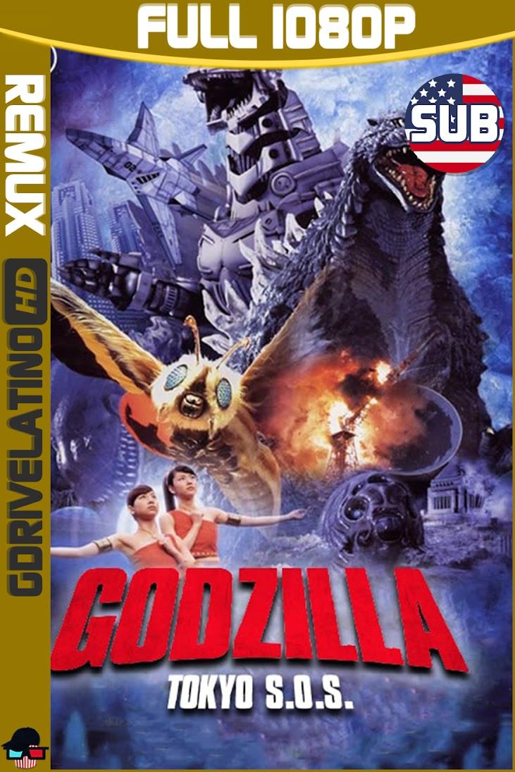 Godzilla : Tokio S.O.S (2003) BDRemux 1080p Subtitulado MKV