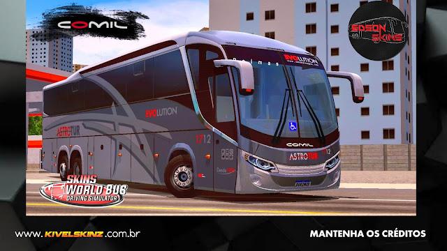 COMIL 1200 6X2 - VIAÇÃO ASTROTUR VIAGENS E TURISMO