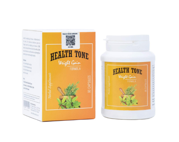 Health Tone Weight Gain Capsules - (Made in Thailand)