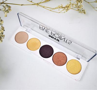 miyo makeup Paleta de sombras número 18