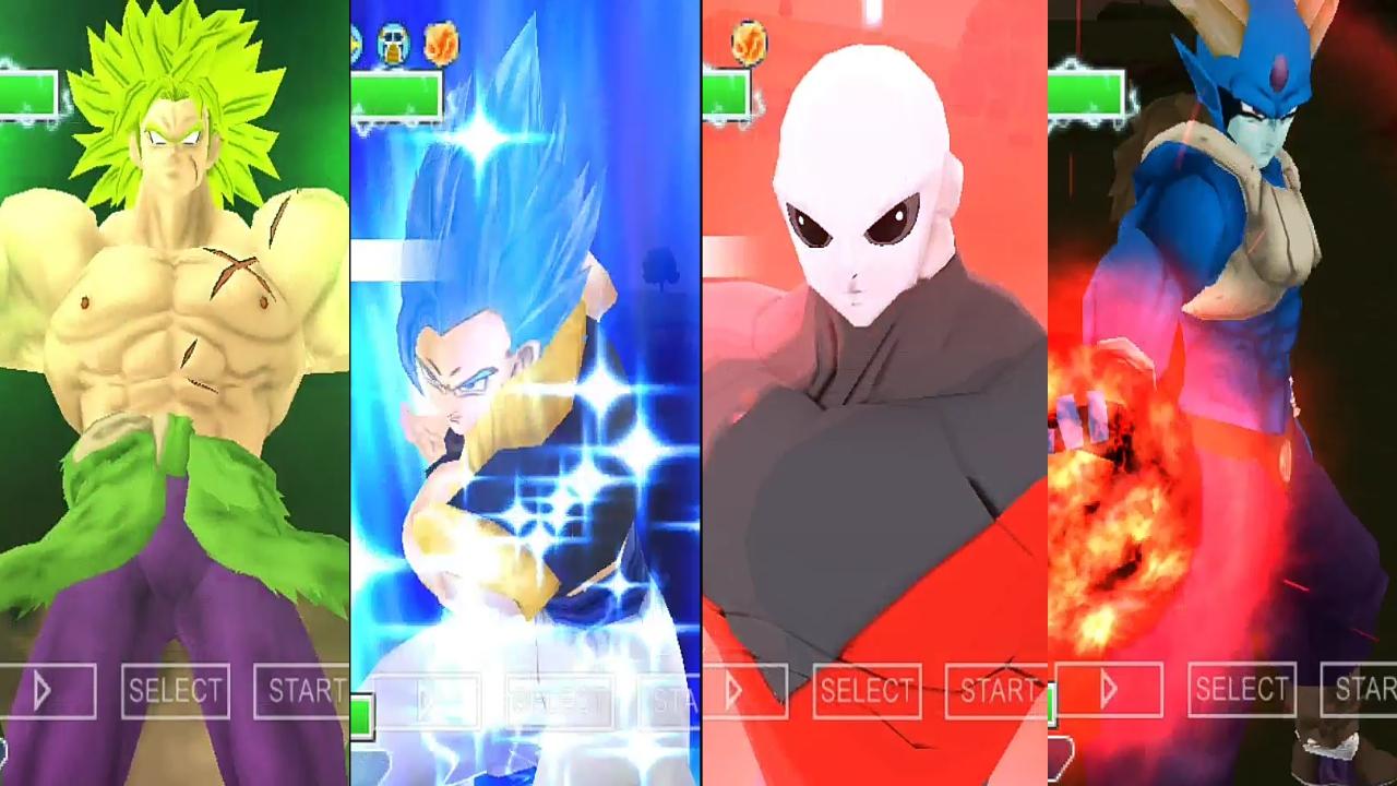 Dragon Ball Super Xenoverse 2 Mods PSP