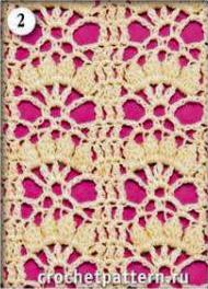 Patrón #773: Punto Calado a Crochet