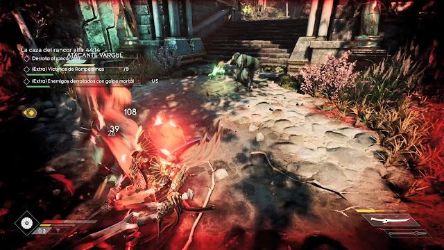 La caza del rancor alfa Iron Godfall