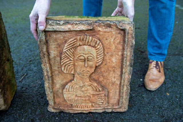 Dutch art detective finds stolen Spanish carvings in English garden