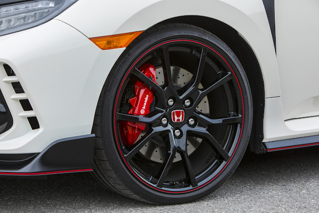 "2017 Honda Civic Type R 20"" wheels"