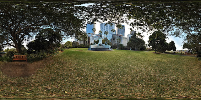 Governor Phillip Fountain - 360 VR Virtual Tours by Kent Johnson.