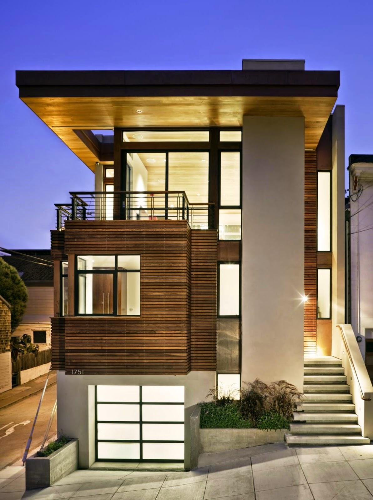 Contoh Gambar Rumah Minimalis 2 Lantai Terbaru