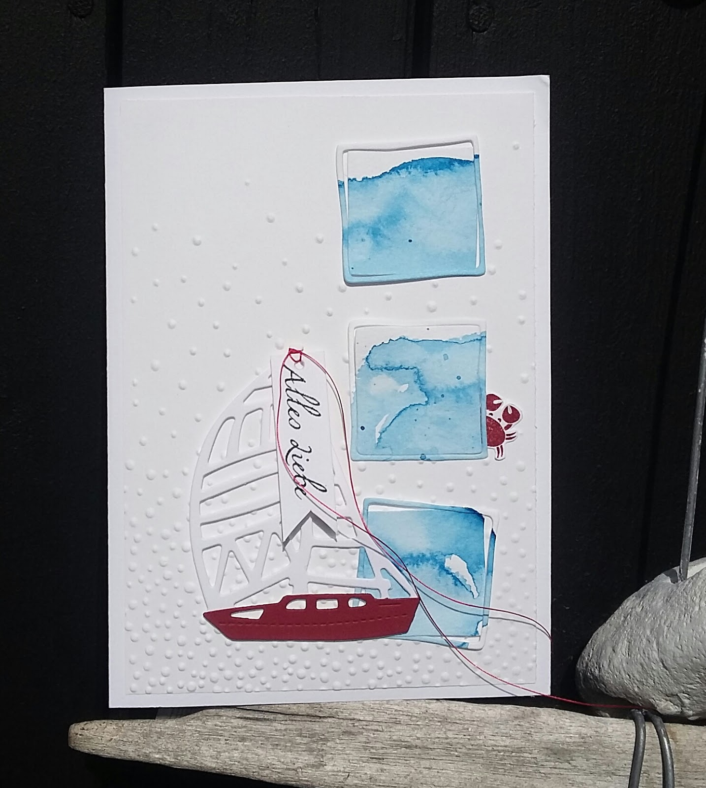 Holunderblutenweiss Segelschiffe