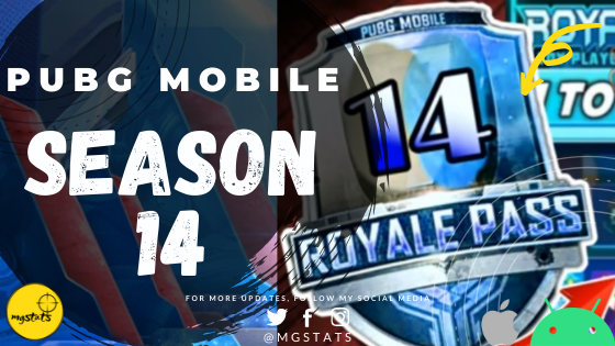 PUBG Mobile New Update : Season 14