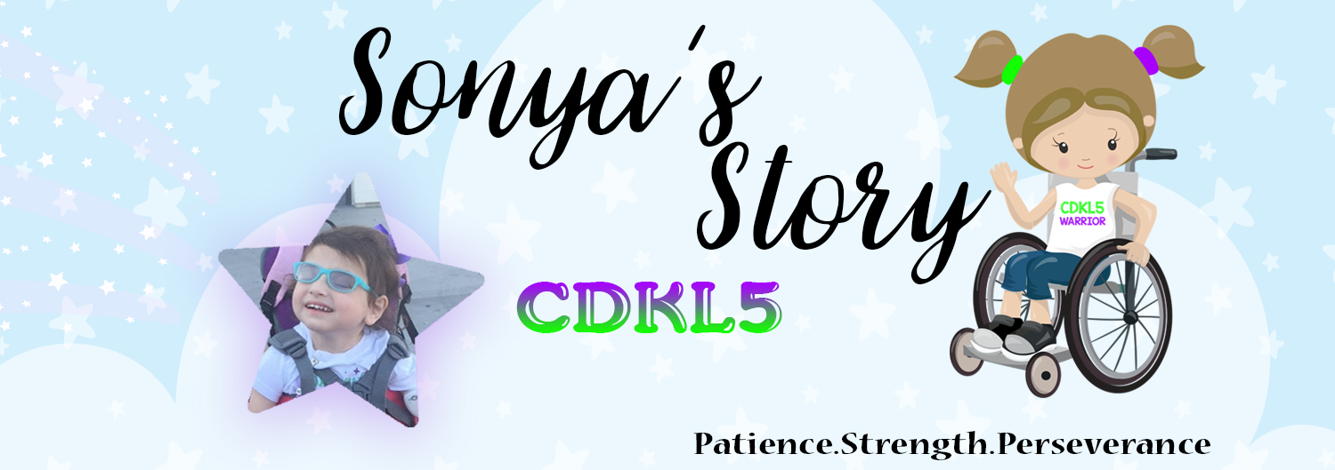 Sonya's Story A Journey Through CDKL5: To the doctor