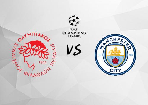 Olympiakos Piraeus vs Manchester City  Resumen y Partido Completo