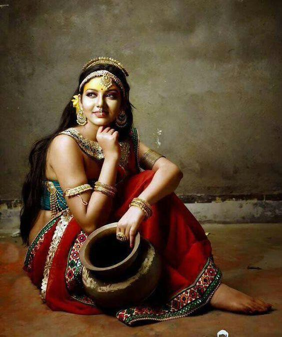 Check Out these 50 Most Beautiful Indian Women Paintings of All Times