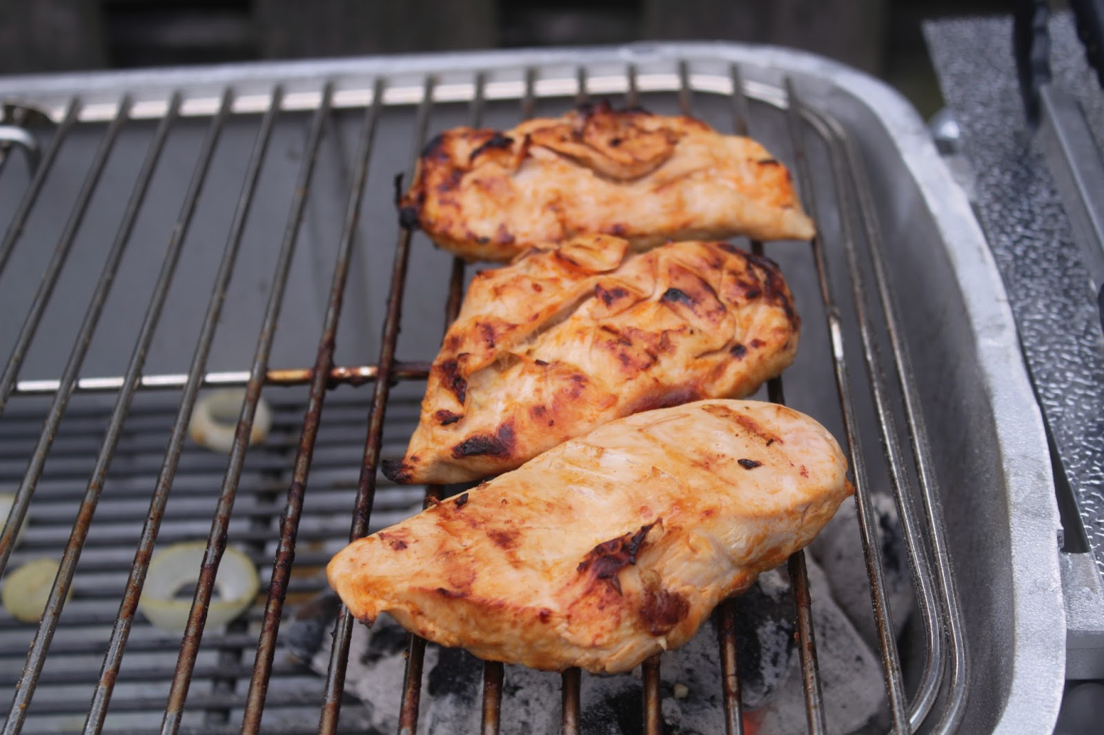 Buffalo Pineapple grilled chicken