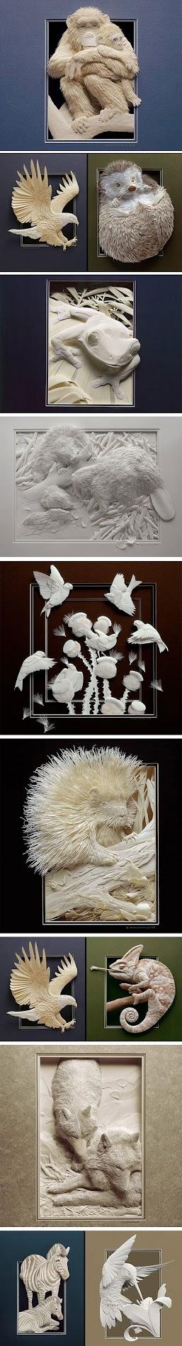 paper art by calvin nicholls