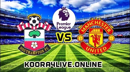 تشكيلة مانشستر يونايتد لمواجهة وساوتهامبثون في الدوري الإنجليزي
