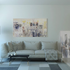 The decor of modern living rooms