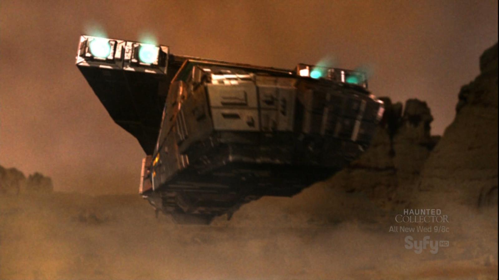 Red Faction Origins Mars shuttle