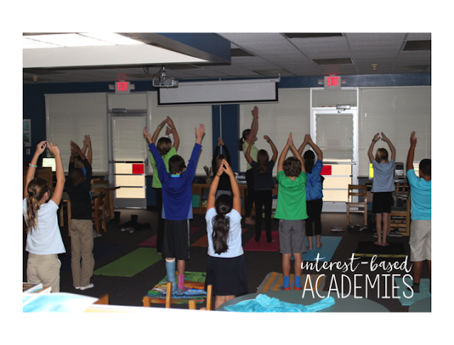 Yoga Academy - Interest Based Student Learning