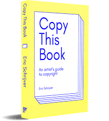 Book review: Copy This Book – An Artist's Guide to Copyright