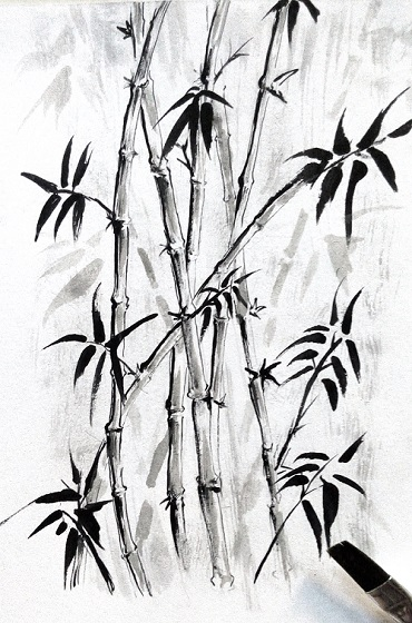 Cara menggambar pohon MUDAH  SIMPEL  MAYAGAMI