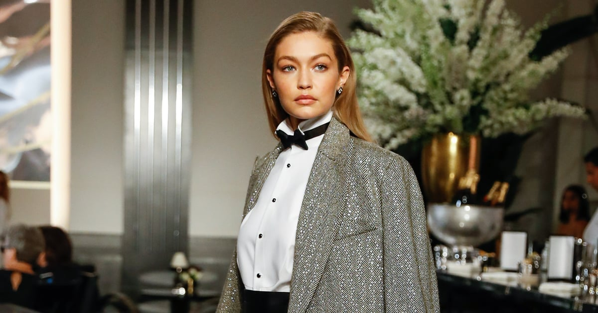 Gigi Hadid Just Walked Her First NYFW Show of the Season