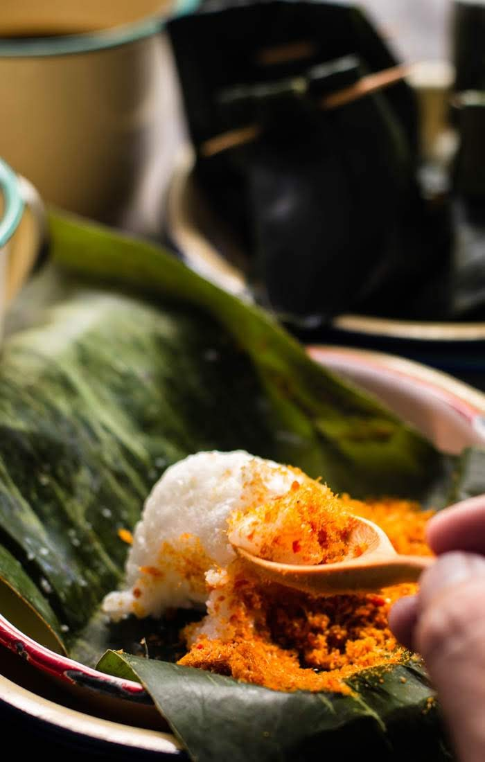 Pulut Sambal Ikan |Sticky Rice with Fish Floss