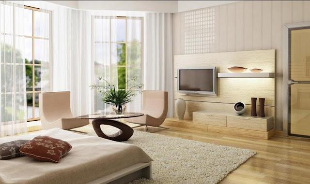 interior rumah minimalis 2 lantai type 36 lantai 2