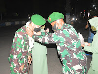 "Kodim 0802/Ponorogo : "" Selamat Datang Letkol Inf Muhammad Radhi Rusin, Selamat Jalan Letkol Inf Sigit Sugiharto """