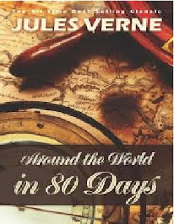 Around The World In 80 days Novel by Jules Verne,Around The World In 80 days Novel,Jules Verne novels