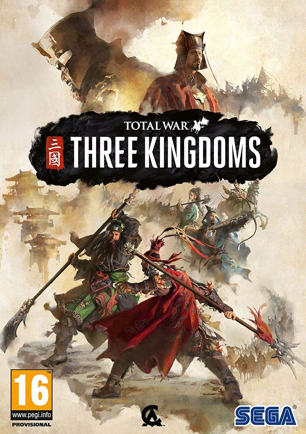 Total War Three Kingdoms Cover Caratula