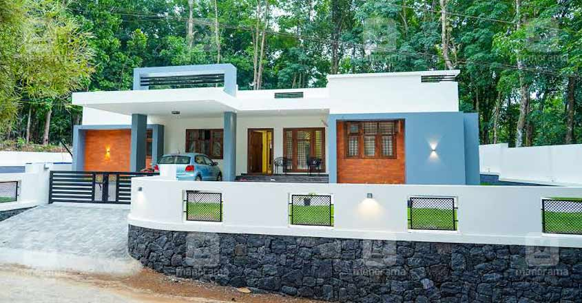 4 Bedroom Cost Effective Simple Home Design With Free Home Plan Free Kerala Home Plans