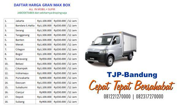 Sewa rental mobil box grandmax Bandung