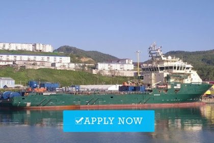 Officers jobs for offshore vessel