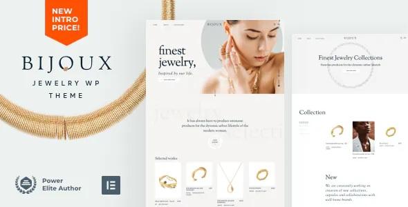 Best Handmade Jewelry Shop WordPress Theme