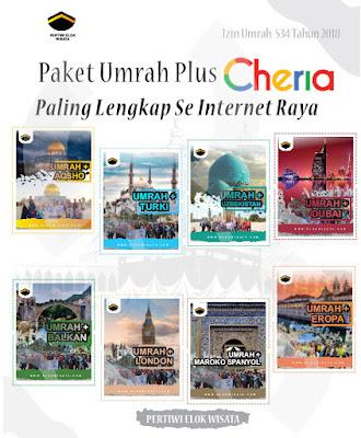 Pilihan Paket Umroh Plus Tour 2020 bersama Cheria Holiday