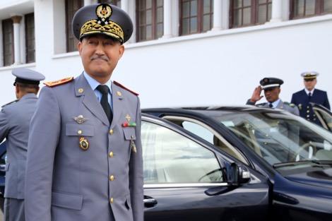 الجنرال الوراق يحل بالجدار الأمني بالمنطقة الجنوبية