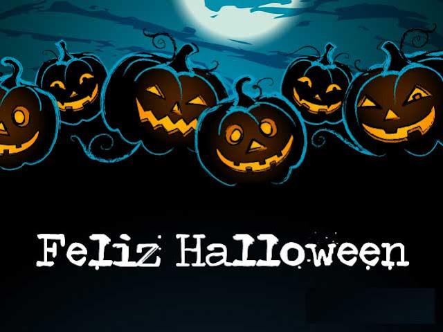 Felicidades en el día de halloween