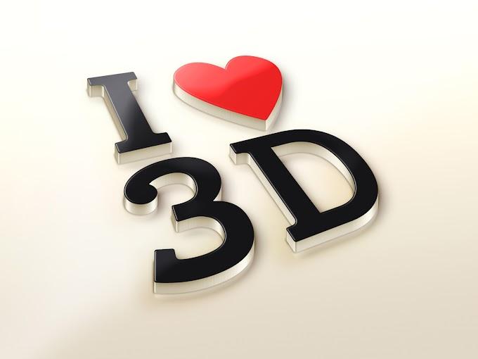 Logo Mockup 3D PSD