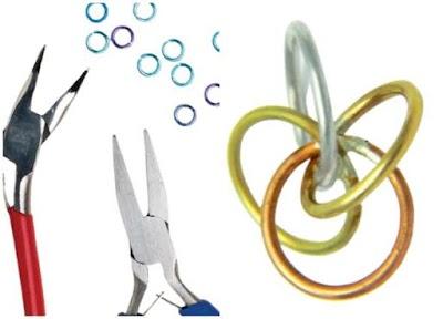 Tutoriales aros-anillas de alambre en 2 revistas