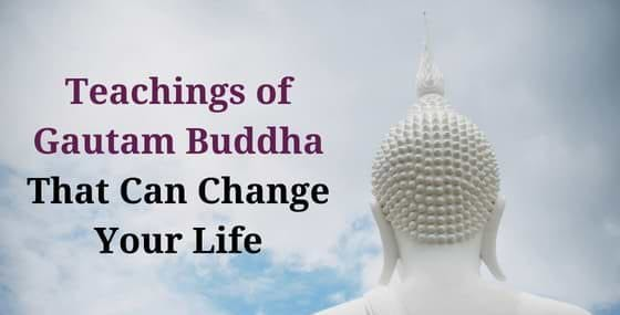 Gautam Buddha Teachings for Life