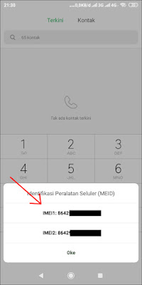 Cara Cek IMEI Ponsel