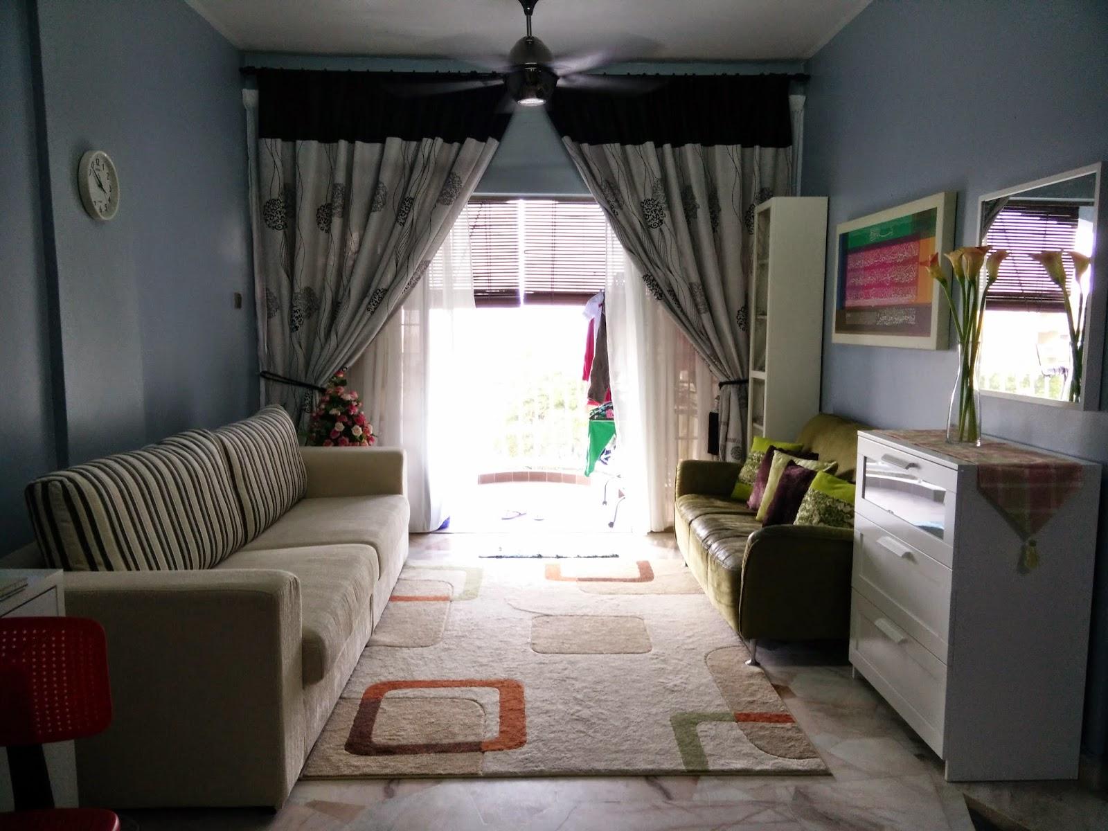 Ruang Tamu Selepas Renovation